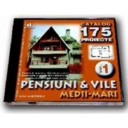 Cd proiecte pensiuni si vile medii-mari volumul 1