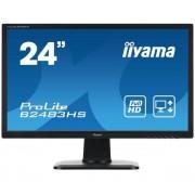 Ecran 24' LED - ProLite B2483HS-1 - 1920 x 1080 - 2 ms - Format large 16/9 - HDMI - Noir