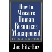 How to Measure Human Resource Management by Jac Fitz-Enz