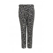People Tree Seaweed Monica Trousers Black Pattern - 1 Stück - Hose - Kosmetik