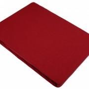 Svilanit Plahta Miha Saten - 150X250 - Tamnocrvena