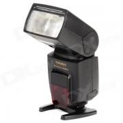 "YONGNUO YN568EX 2.0 ""LCD de alta velocidad de 1/8000 Sync Digital Flashgun TTL para Nikon DSLR - Negro"