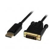 StarTech.com Cable Activo de Video, DisplayPort Macho - DVI-D Macho, 90cm, Negro