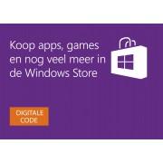 Digitale Windows Store-cadeaubon: € 15,00