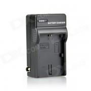 DSTE LP-E6 Chargeur de batterie pour Canon 5D mark ii iii EOS 60 7 D 6 D 70 60Da - noir (fiche à nous)
