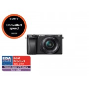 Camera foto Sony ILC-E6300LB cu montura E cu senzor APS-C