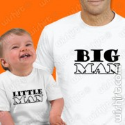 T-shirts Big Man Little - Bebé