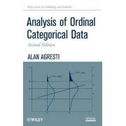 Analysis of Ordinal Categorical Data by Alan Agresti