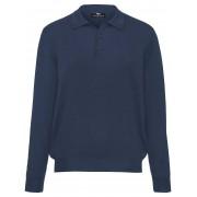 Peter Hahn Polo-Pullover – Modell ACHIM Peter Hahn blau