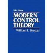 Modern Control Theory by William L. Brogan