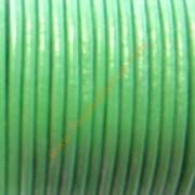 Cuero 2mm oferta verde light green (precio por 50cm).