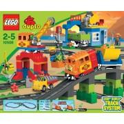 Lego- Duplo 10508 - Delux vasútkészlet
