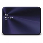 Hard disk extern Western Digital My Passport Ultra Metal Edition 1TB 2.5 inch USB 3.0 Blue