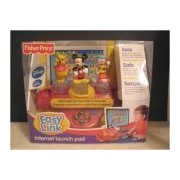 Mickey Mouse, Pooh and Jo Jo Disney Easy Link Internet Launch Pad Console by Mattel