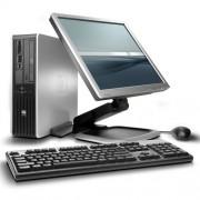 HP DC7800 C2D SFF 4GB + 19inch LCD