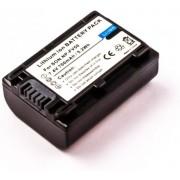 Battery similar SONY NP-FV50, Li-ion, 7,4V, 700mAh, 5,2Wh, dark grey