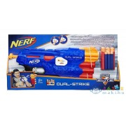 Nerf N-Strike Elite: Dual-Strike Szivacslövő Puska (Hasbro, B4620)