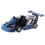 Baoblae Pull Back Car Racing Vehicle Diecast Race Car Model Design Kids Children Boy Toy Xmas Birthday Gift Blue