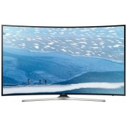 "Televizor LED Samsung 139 cm (55"") UE55KU6100, Ultra HD 4K, Smart TV, WiFi, Ecran Curbat, CI+ + Serviciu calibrare profesionala culori TV"