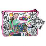 ALEX Toys Color a Bag & Accessories Color a Groovy Messenger Bag