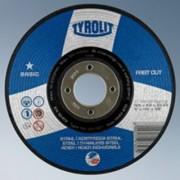 Brusna ploča 125x6 čelik/inox fast cut BASIC (10kom) TYROLIT