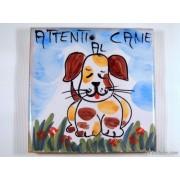 Mattonelle ceramica attenti al cane ma2