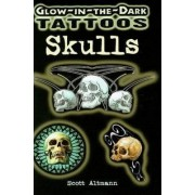 Glow-in-the-Dark Tattoos: Skulls by Scott Altmann