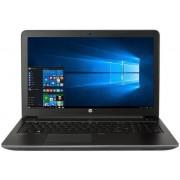 """Laptop HP ZBook 15 G3 (Procesor Intel® Core™ i7-6700HQ (6M Cache, up to 3.50 GHz), Skylake, 15.6""""FHD, 8GB, 256GB SSD, nVidia Quadro M1000M @2GB, Tastatura iluminata, Wireless AC, FPR, Win10 Pro 64) + Jucarie Fidget Spinner OEM, plastic (Albastru)"""