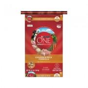 Purina ONE SmartBlend Chicken & Rice Formula Adult Premium Dry Dog Food, 16.5-lb bag