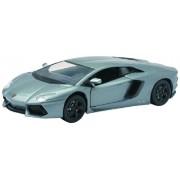 Newray 71255 - Car Lamborghini Aventador Lp 700-4, Scala 1:24, Die Cast, Grigio