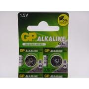 GP A76, LR44, V13GA, AG13, 1.5V baterie pentru ceas, laser, calculator de birou etc. blister 10