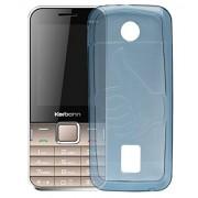 ECellStreet Case,Blue Soft ,Lightweight,Shock Absorbing Tpu Back Case Cover For Karbonn K451 Plus Sound Wave