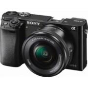 Aparat Foto Mirrorless Sony Alpha A6000 SEL 16-50+SEL 55-210 Black