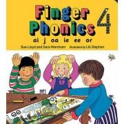 Finger Phonics book 4 by Sara Wernham