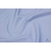 Tessuto Popelin Rigato Blu Bianco