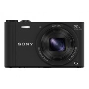 Sony Cybershot DSC-WX350/B 18.2MP Digital Camera (Black)