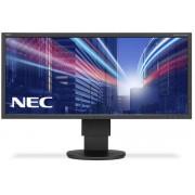 "Monitor IPS LED Nec 29"" EA294WMi, Ultra Wide (2560 x 1080), HDMI, DVI, VGA, DisplayPort, USB, 6 ms, Boxe, Pivot (Negru)"