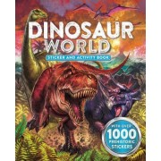 Dinosaur World Sticker and Activity Book by Little Bee Books