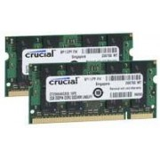 Crucial 4 GB SO-DIMM DDR2 - 800MHz - (CT2KIT25664AC80E) Crucial CL6