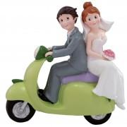 Figurita pastel Moto