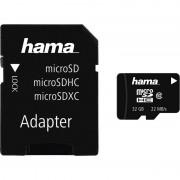 Hama Speicherkarte Micro SecureDigital High Capacity, 32 GB