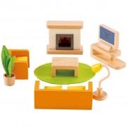 Hape Salon média pour maison de poupée E3452