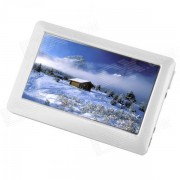 """""""BAI16 1080p 4.3"""""""" HD Touch Screen MP5 Player w/ TV Out - White (16GB)"""""""