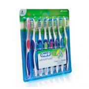 ORAL B ADVANTAGE CRISSCROSS TOOTHBRUSH 8 Pack
