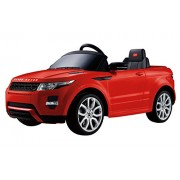 Vroom Rider Range Rover Rastar 12V Battery Operated/Remote Controlled Ride-On, Red