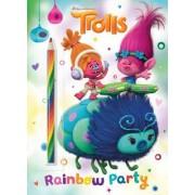 Rainbow Party! (DreamWorks Trolls) by Golden Books