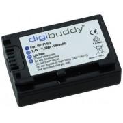 Digibuddy accu Sony NP-FV50