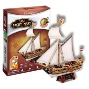 Cubic Fun T4010H - 3D Puzzle Lo Yacht Mary, 83 Pezzi