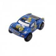 Mini RC Truck (Blue) - Electric Off Road High Performance - Super Fast Speeds of 15MPH - Do Flips and Jumps!