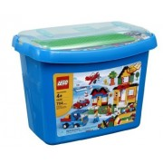 Toy / Game Lego Bricks And More Deluxe Brick Box #5508 (704 Pieces) With Building Base Plate (Ages 4+) by 4KIDS